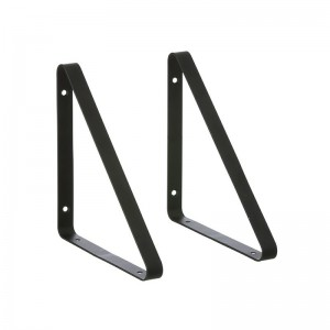 Ferm Living Metal Shelf Hangers - Hyldeknægte i Sort