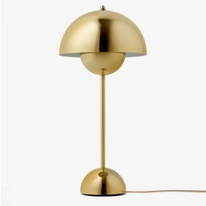 &tradition Flowerpot bordlampe VP3 - Polished Brass