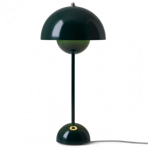 &tradition Flowerpot bordlampe VP3 - Dark Green