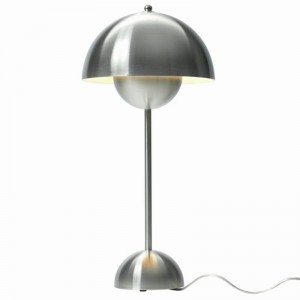 &tradition Flowerpot bordlampe VP3 - Polished Steel